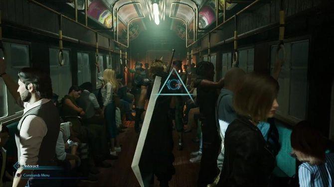 【悲報】FF7Rのクラウドさん、街中でバスターソードを背負って闊歩する