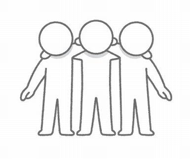 「例の3人組」←だれそうぞうした?
