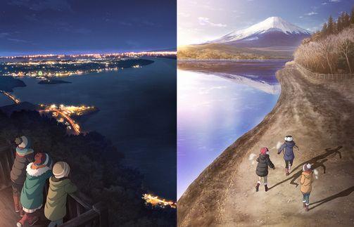 『ゆるキャン△』とかいうキャンプアニメのフリした山梨静岡の宣伝アニメwww